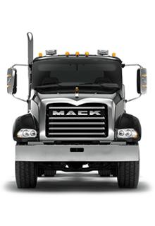 Front of Mack Granite Truck - New Semi Truck